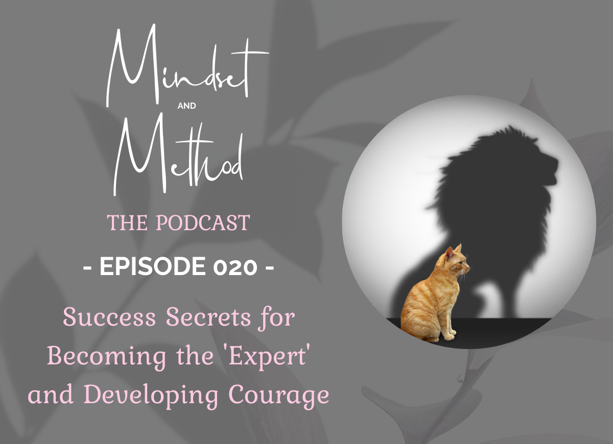 Podcast 020 - Success Secrets for Becoming the 'Expert' and Developing Courage